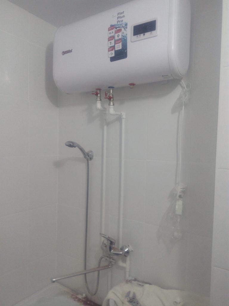 установка водонагревателя воронеж