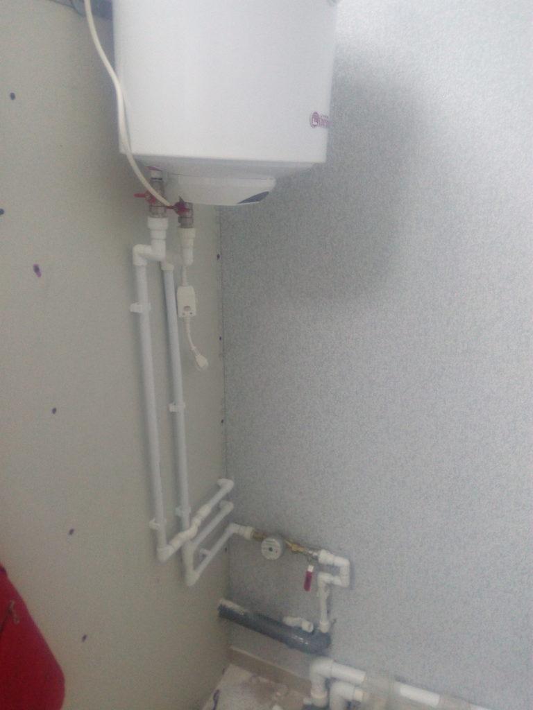 монтаж водонагревателя воронеж