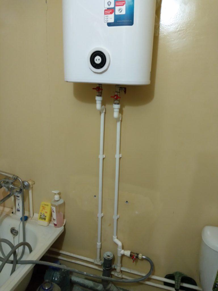 установить водонагреватель воронеж
